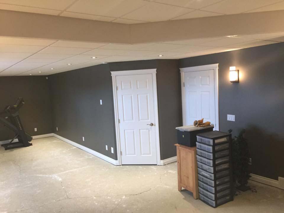 Residential Basement Renovation 02
